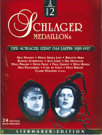 Der Schlager lernt das Laufen 1920-1927 2 CDs