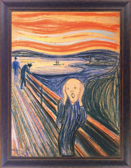 Der Schrei. Edvard Munch (1863 - 1944).