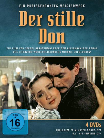 Der stille Don (Gesamtausgabe). 4 DVDs.