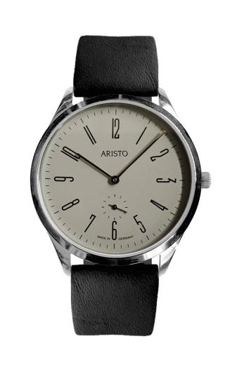 Design-Uhr »Bauhaus 1069«, grau.