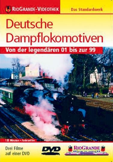 Deutsche Dampflokomotiven DVD