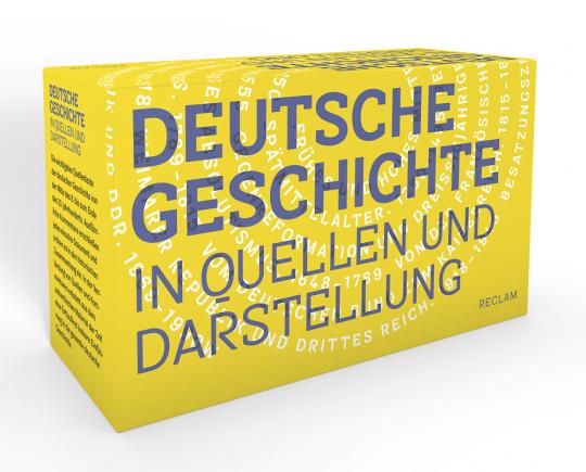 Deutsche Geschichte in Quellen und Darstellung. 11 Bände in Kassette.