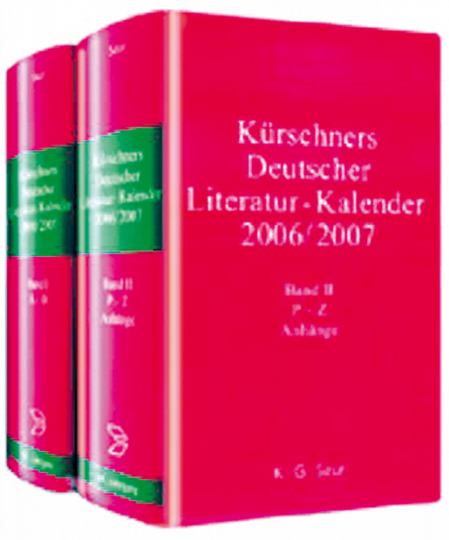 Kürschners Deutscher Literatur-Kalender. 65. Jahrgang. 2 Bde.