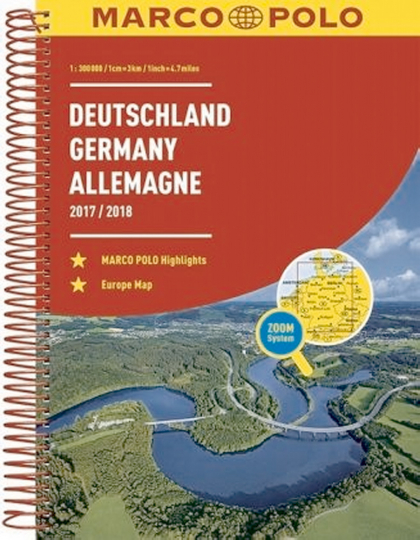 Deutschland 2017/2018 - 1:300.000 / Europa 1:4.500.000