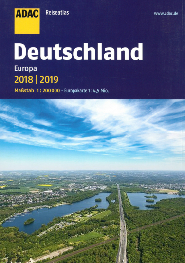 Deutschland, Europa 2018/2019 - Deutschland 1:200.000, Europa 1:4,5 Mio.