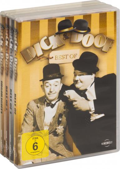 Dick & Doof - Best Of. 4 DVDs.