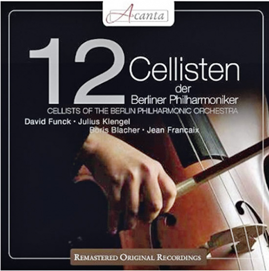 12 Cellisten der Berliner Philharmoniker. CD.