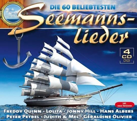Die 60 beliebtesten Seemannslieder. 4 CDs.