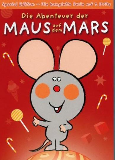 Die Abenteuer der Maus auf dem Mars (Special Edition). 2 DVDs.