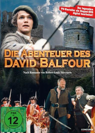 Die Abenteuer des David Balfour. 2 DVDs