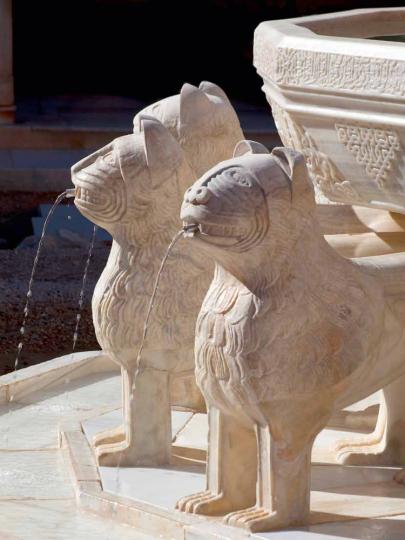 Die Alhambra. Geschichte. Architektur. Kunst. Cabra-Leder.