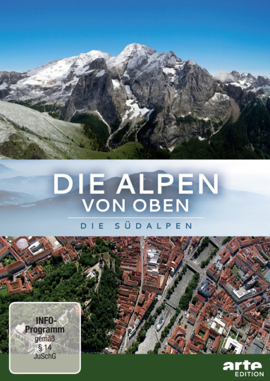 Die Alpen von oben : Die Südalpen auf 2 DVDs