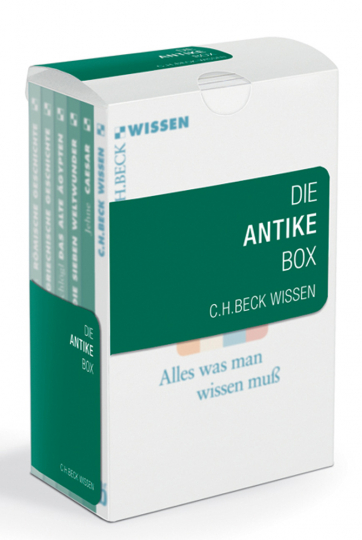 Die Antike Box. Römische Geschichte, Griechische Geschichte, Caesar, Das alte Ägypten, Die sieben Weltwunder.