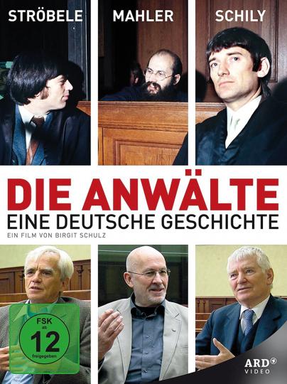 Die Anwälte. Ströbele - Mahler - Schily. DVD.