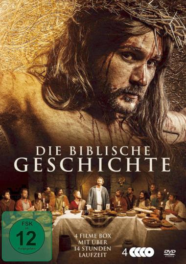 Die biblische Geschichte 4 DVDs