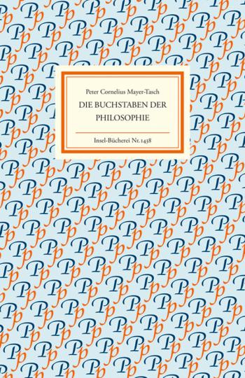 Die Buchstaben der Philosophie.