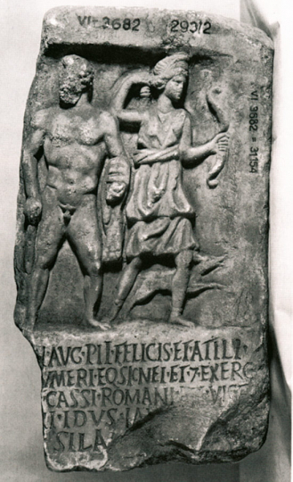 Die Denkmäler der Kaiserreiter. Die berittene Garde der römischen Imperatoren