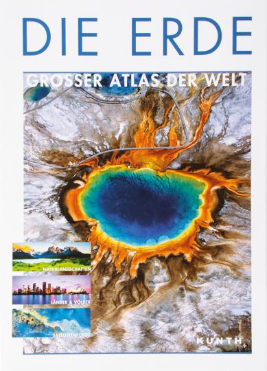 Die Erde. Großer Atlas der Welt.