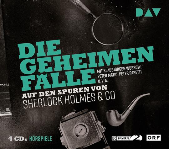Die geheimen Fälle. Auf den Spuren von Sherlock Holmes & Co. 4 CDs.