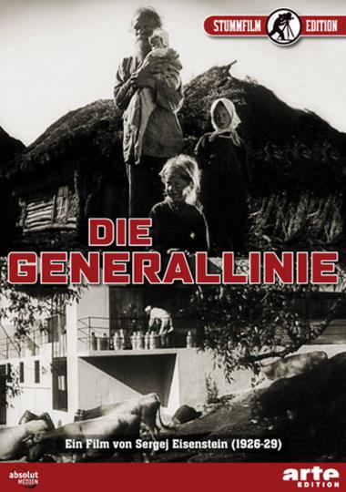 Die Generallinie. Stummfilm. DVD.
