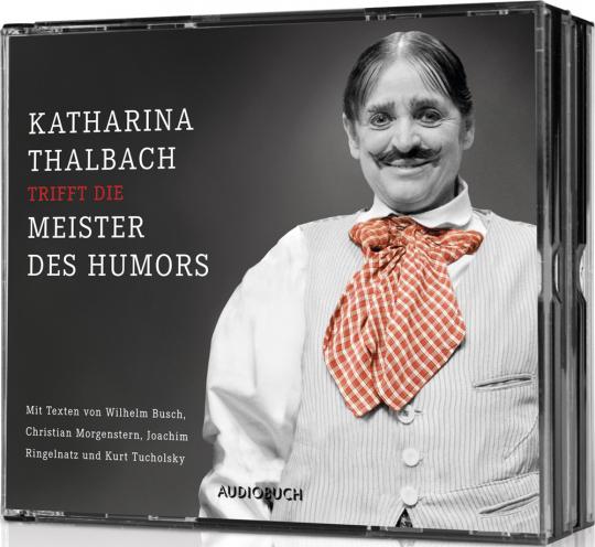 Die große Katharina Thalbach-Humorbox. 4 CDs.