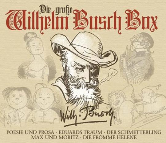 Die große Wilhelm Busch Box. 6 CDs + 2 DVDs
