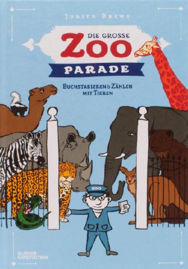 Die große Zoo-Parade. Buchstabieren und Zählen mit Tieren.