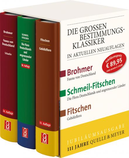 Die Großen Bestimmungsklassiker im Schuber. Brohmer - Fitschen - Schmeil-Fitschen.