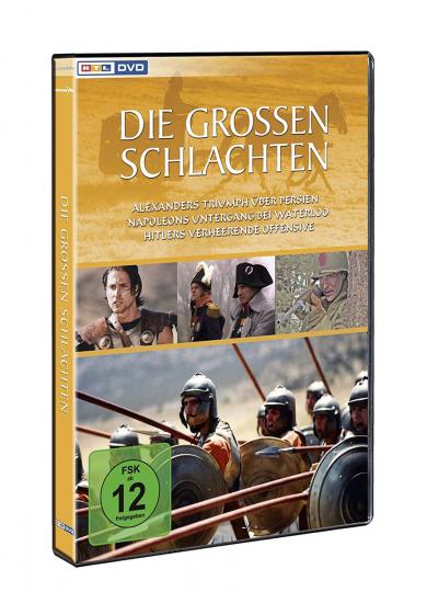 Die großen Schlachten DVD