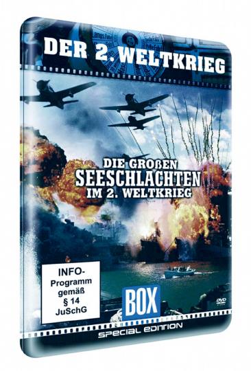 Die großen Seeschlachten im 2. Weltkrieg DVD