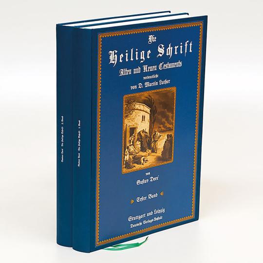 Die Heilige Schrift 2 Bände - Illustriert von Gustave Doré.