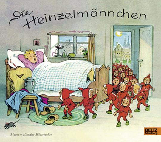 Die Heinzelmännchen. Fritz Baumgarten.