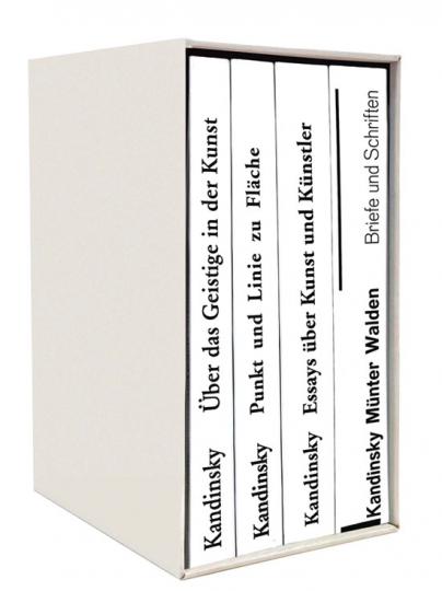 Die Kandinsky Basis-Bibliothek. Wassily Kandinsky. 4 Bde.