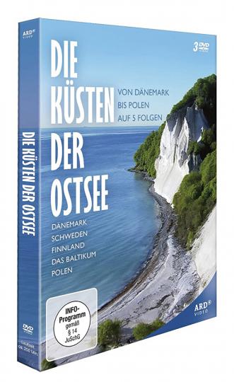 Die Küsten der Ostsee. 3 DVDs.