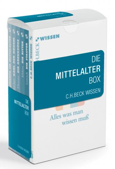 Die Mittelalter Box. Deutsche Geschichte im Mittelalter, Karl der Große, Die Kreuzzüge, Die Ritter, Die Staufer.