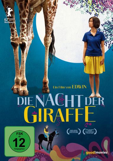 Die Nacht der Giraffe. DVD.