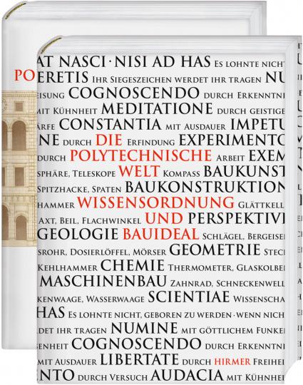 Die Polytechnische Welt. Wissensordnung und Bauideal. Planmaterialien zum Zürcher Polytechnikum. 2 Bände.