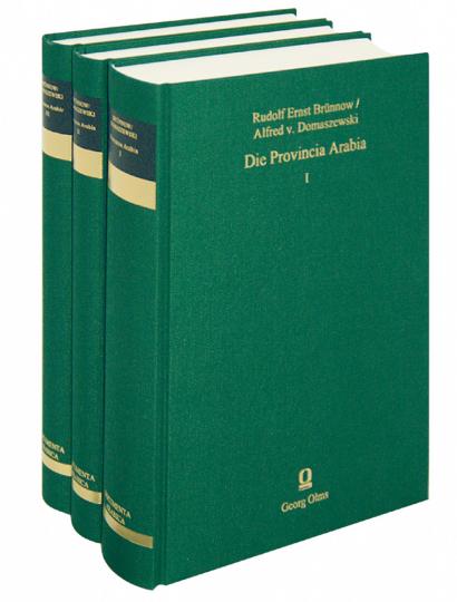 Die Provincia Arabia - 3 Bde.
