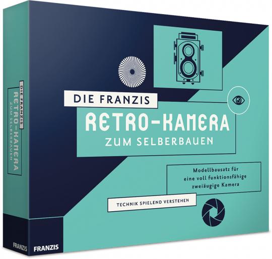 Die Retro-Kamera zum Selberbauen. Modellbausatz ohne Kleben.