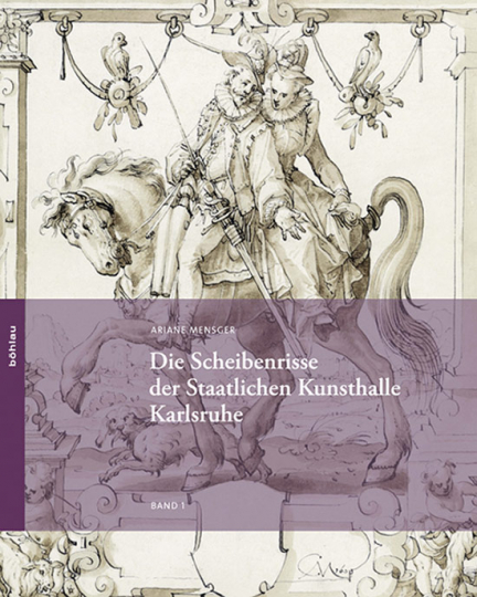 Die Scheibenrisse der Staatlichen Kunsthalle Karlsruhe. 2 Bände.