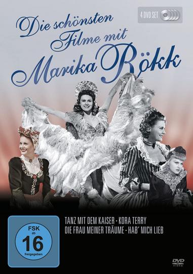 Die schönsten Filme mit Marika Rökk. 4 DVDs
