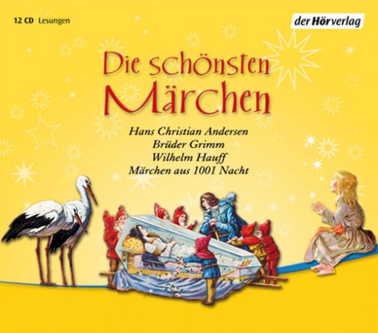 Die schönsten Märchen. 12 CDs.