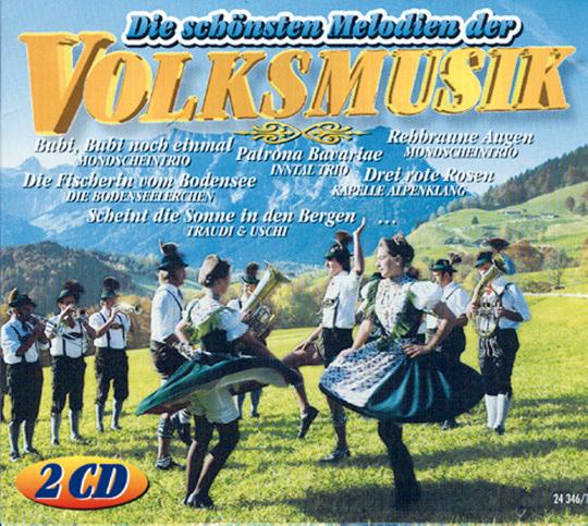 Die schönsten Melodien der Volksmusik 2 CDs