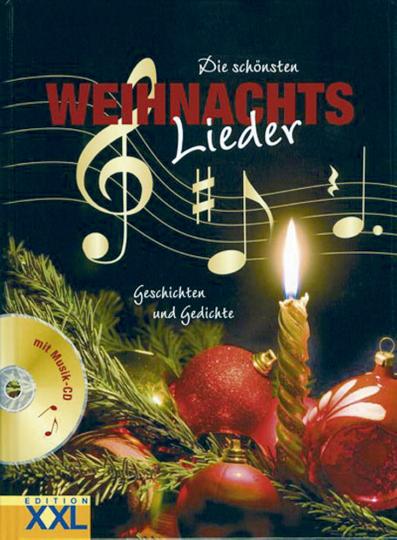 Die schönsten Weihnachtslieder Buch & CD