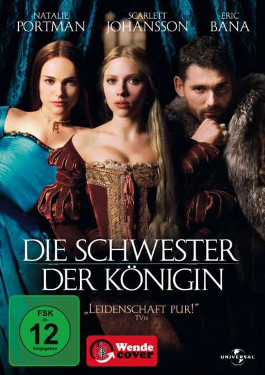 Die Schwester der Königin. DVD.