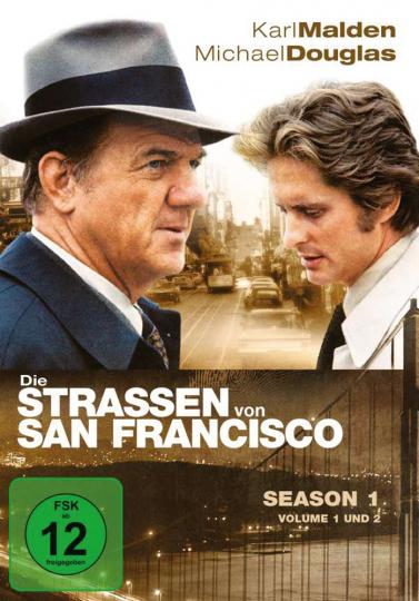 Die Straßen von San Francisco. Season 1. 8 DVDs.