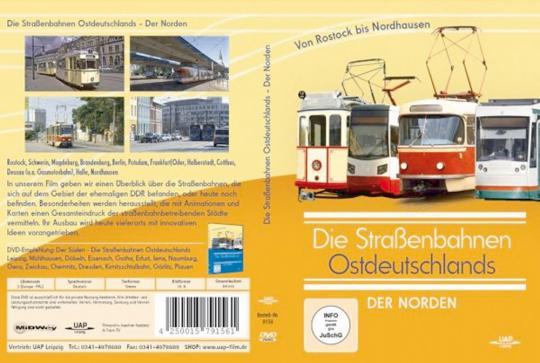 Die Straßenbahnen Ostdeutschlands - Der Norden DVD