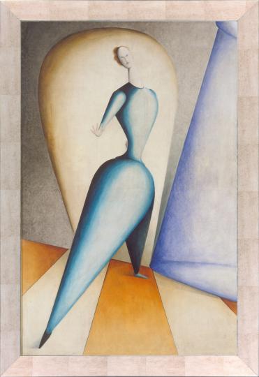 Die Tänzerin. Oskar Schlemmer (1888-1943).
