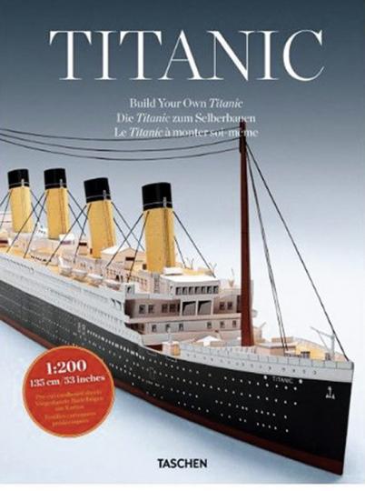Die Titanic zum Selberbauen.