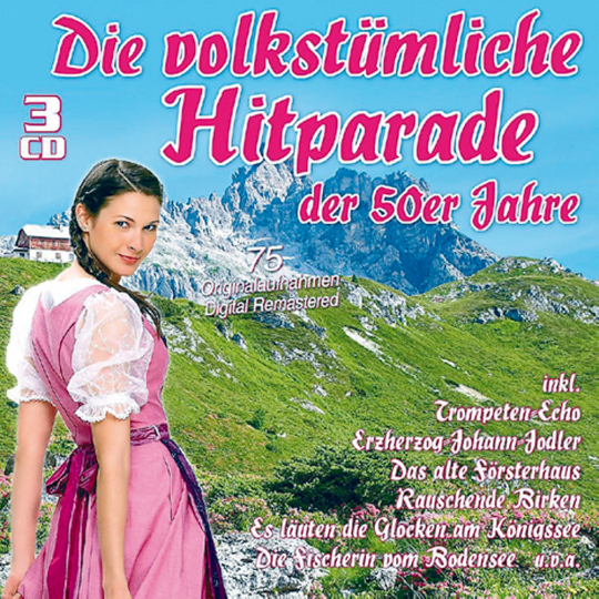 Die volkstümliche Hitparade der 50er Jahre 3 CDs